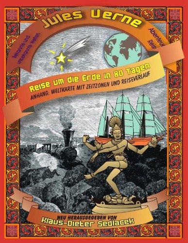 9783837040395: Reise Um Die Erde in 80 Tagen (German Edition)