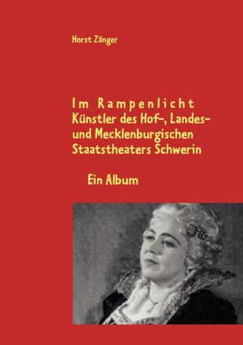 Künstler am Hof-, Landes- und Mecklenburgischen Staatstheaters Schwerin - Zänger, Horst und Günter Grewolls