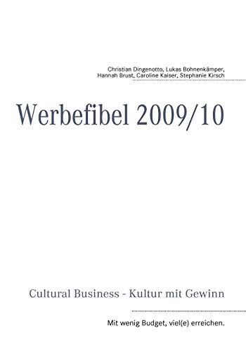 9783837056679: Cultural Business