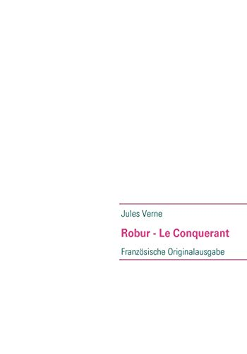 9783837058567: Robur - Le Conquerant
