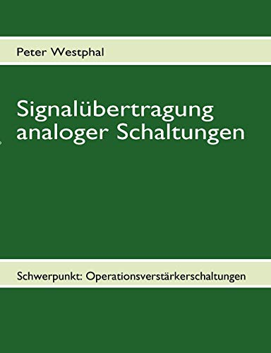 9783837061154: Signalübertragung analoger Schaltungen