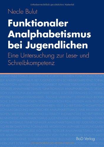 9783837063271: Funktionaler Analphabetismus bei Jugendlichen (German Edition)