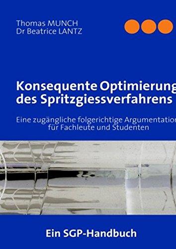 Konsequente Optimierung des Spritzgiessverfahrens: Thomas MUNCH