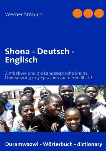 9783837077643: Shona - Deutsch - Englisch
