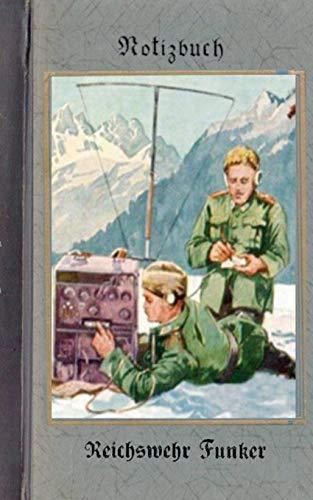 9783837078596: Vintage Historical Art Notebook: Reichswehr Funker (Notizbuch)