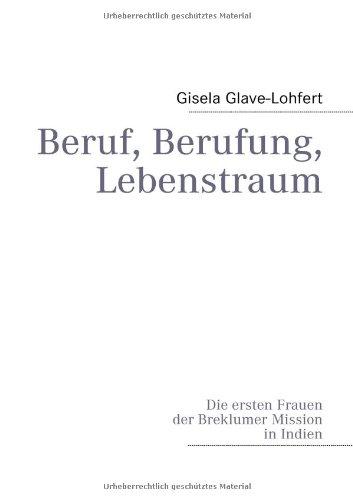 9783837088281: Beruf, Berufung, Lebenstraum (German Edition)