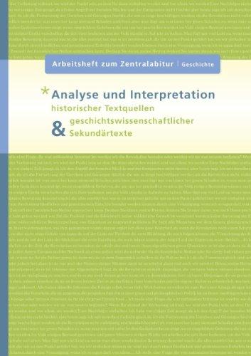 9783837090420: Analyse und Interpretation historischer Textquellen & geschichtswissenschaftlicher Sekundärtexte