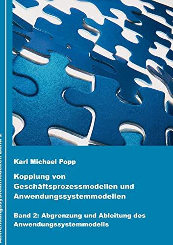 9783837090734: Kopplung von Geschäftsprozessmodellen und Anwendungssystemmodellen