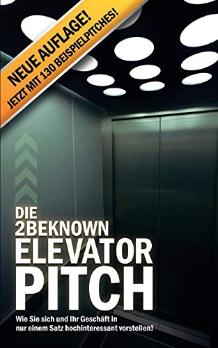 Die 2BEKNOWN Elevator Pitch: Riedl, Alexander