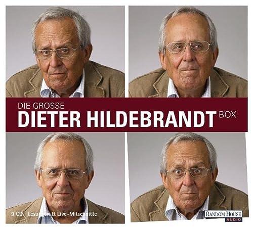 9783837109061: Die gro�e Dieter Hildebrandt-Box: Mit