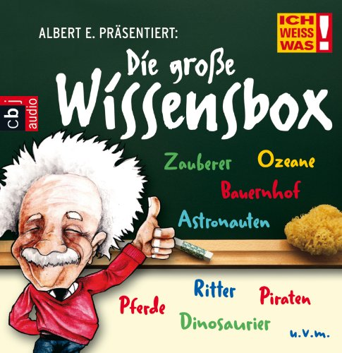 9783837110999: Albert E. präsentiert: Die große Wissens-Box