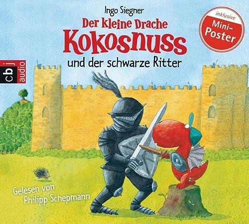 9783837114720: Der kleine Drache Kokosnuss 04 und der schwarze Ritter