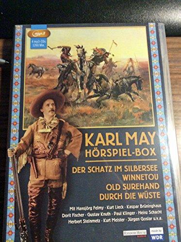9783837114836: Karl May - Hörspiel-Box: Der Schatz im Silbersee - Winnetou - Old Surehand - Durch die Wüste (4 MP3 CD`s)