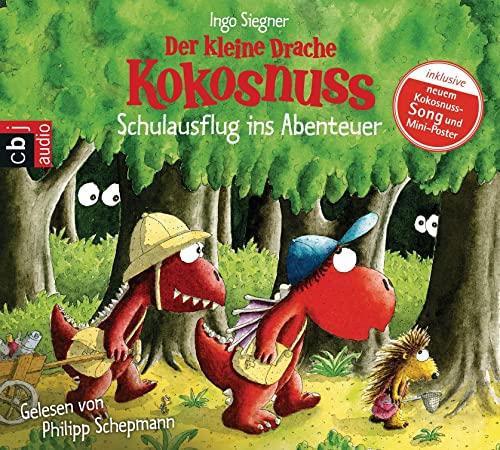 9783837119534: Der kleine Drache Kokosnuss 19- Schulausflug ins Abenteuer