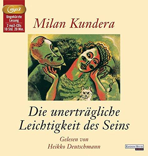 9783837130980: Kundera, M: Unerträgliche Leichtigkeit des Seins/2 MP3-CDs