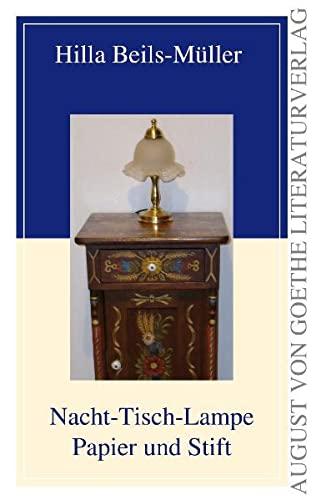 9783837207859: Nacht-Tisch-Lampe Papier und Stift
