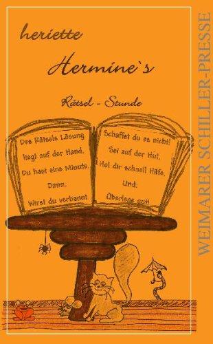 "9783837208184: Hermine's R""tsel-Stunde"