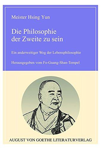 9783837209747: Die Philosophie der Zweite zu sein (German Edition)