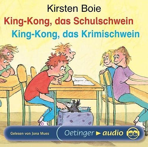 9783837303117: King-Kong, das Schulschwein / King-Kong, das Krimischwein. CD: Ungekürzte Lesung