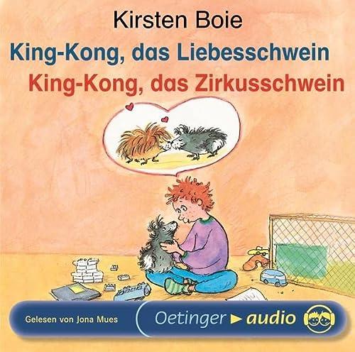 9783837303131: Boie,Kirsten-King-Kong Das Zirkusschwein/Das Liebe