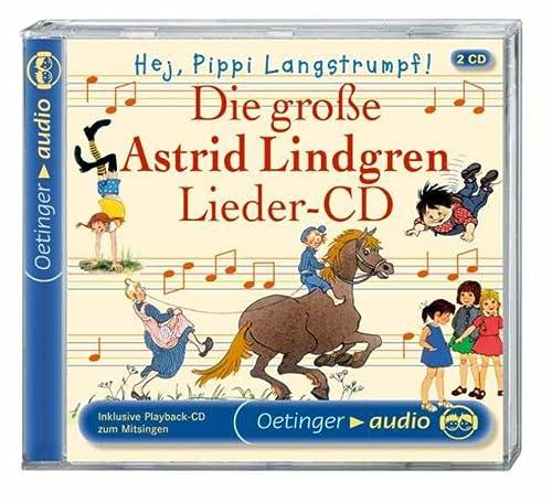 9783837303384: Die große Astrid Lindgren Lieder-CD: Hej, Pippi Langstrumpf