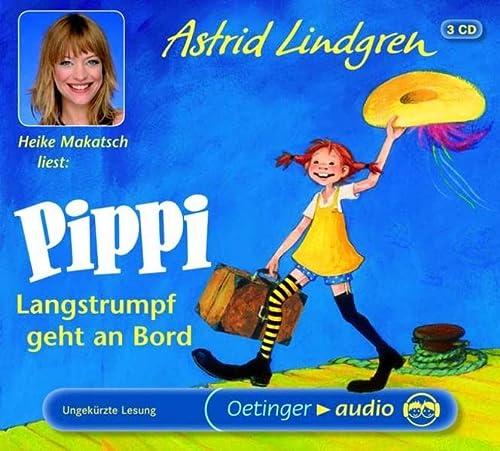Pippi Langstrumpf geht an Bord - Lindgren, Astrid