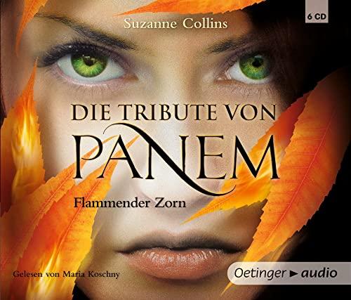 9783837306927: Die Tribute von Panem. Flammender Zorn (6 CD): Gek�rzte Audioversion
