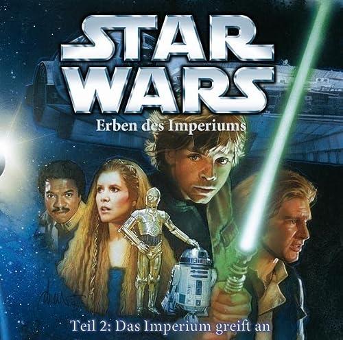 Star Wars Erben des Imperiums (CD) Teil 2: Das Imperium greift an: Hörspiel - Zahn, Timothy