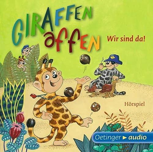 9783837307313: Giraffenaffen - Wir sind da! (CD): Hörspiel