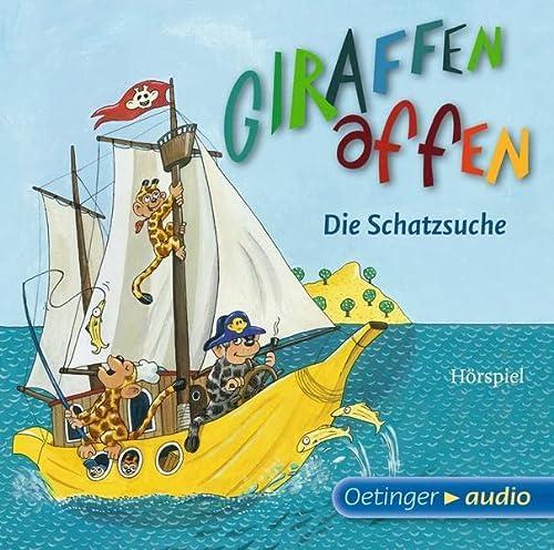 9783837307481: Giraffenaffen - Die Schatzsuche (CD): Hörspiel