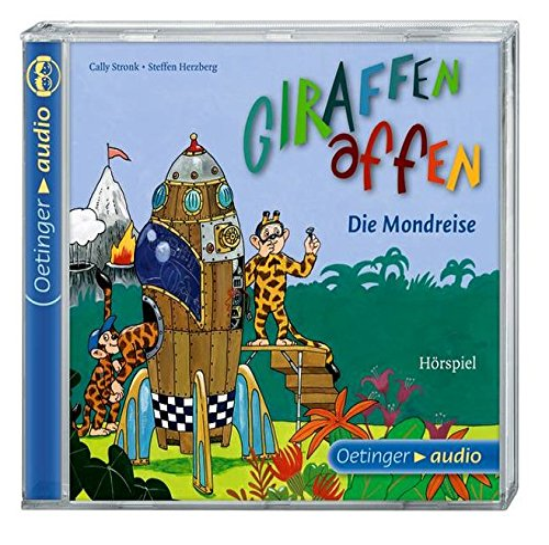 9783837307931: Giraffenaffen - Die Mondreise (CD): Band 3, Hörspiel, 60 Min.