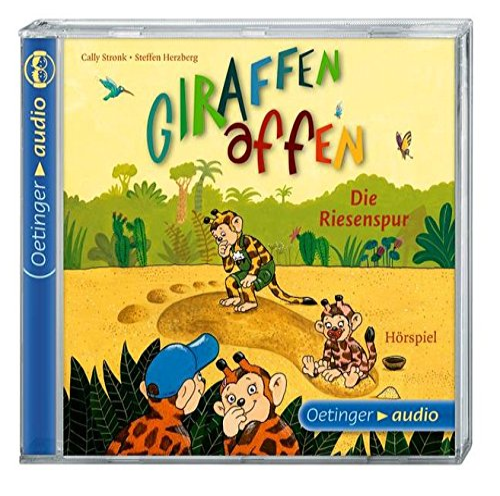 9783837307948: Giraffenaffen - Die Riesenspur (CD); Hörspiel. Band 4 ; Ill. v. Wehner, Katja /Komp. v. Poppe, Kay /Produzent: Poppe, Kay /Regie: Gustavus, Frank /Interpret (sonst.): Gawlich, Cathlen /Kaminski, Stefan /Louisan, Annett; Deutsch; Audio-CD