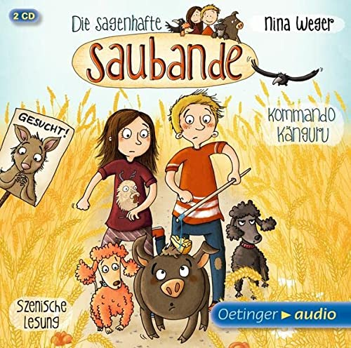 9783837308174: Die sagenhafte Saubande 01 - Kommando Känguru (2 CD)