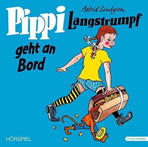 Pippi Langstrumpf geht an Bord. Vinyl-Ausgabe: Lindgren, Astrid