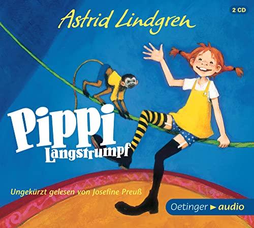 9783837308822: Pippi Langstrumpf (2 CD): Neuaufnahme mit Josefine Preuß