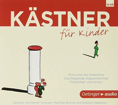 9783837308938: Kästner für Kinder, 10 Audio-CDs