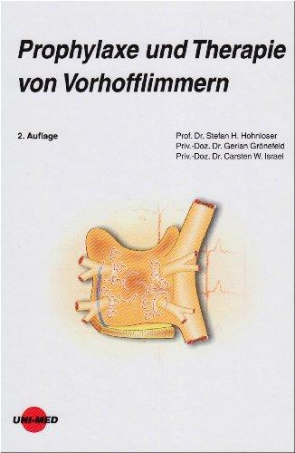 9783837420876: Prophylaxe und Therapie von Vorhofflimmern