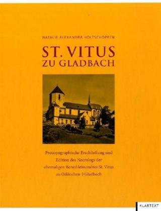 9783837500387: St. Vitus zu Gladbach