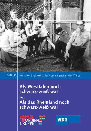 9783837501483: Als Westfalen noch schwarz-weiß war und Als das Rheinland noch schwarz-weiß war, 1 DVD [Import allemand]