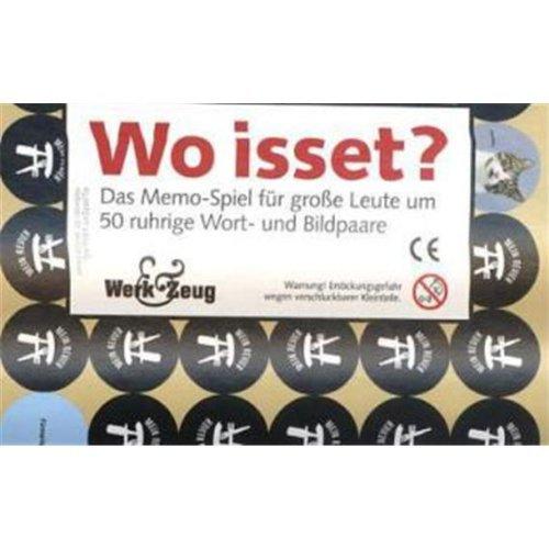 9783837503012: Wo isset - Memospiel Erwachsene