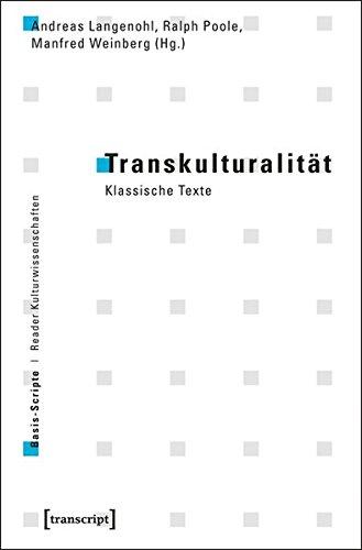 9783837617092: Transkulturalit�t: Klassische Texte