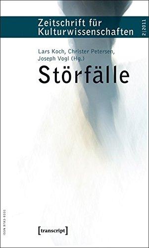 Beispielbild für Störfälle. Zeitschrift für Kulturwissenschaften 2/2011. zum Verkauf von Schroeders Sammler Bücher