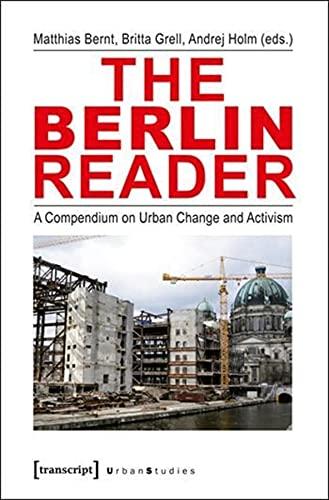 9783837624786: BERLIN READER (Urban Studies)