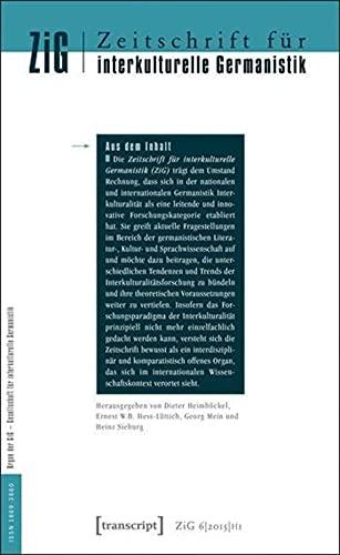 Zeitschrift für interkulturelle Germanistik (Journal of Intercultural