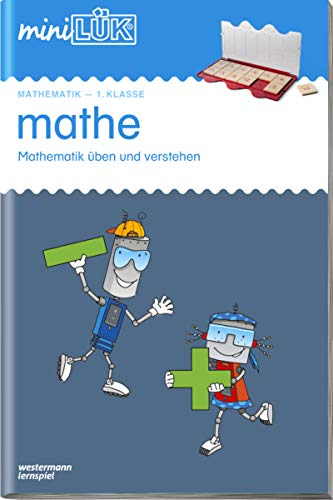 9783837702217: miniLÜK mathe 1. Klasse