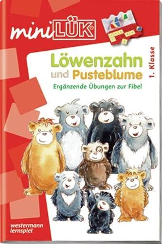 9783837741421: miniLÜK: Löwenzahn und Pusteblume: Ergänzende Übungen zur Fibel