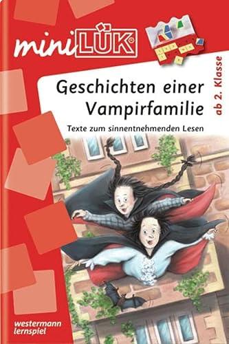 9783837741872: miniLÜK Geschichten einer Vampirfamilie: Texte zum sinnentnehmenden Lesen