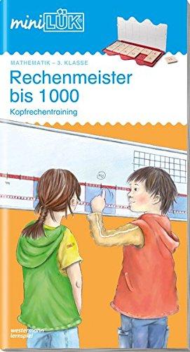 miniLÜK. Rechenmeister bis 1000: Kopfrechentraining: Westermann Lernspielvlg.