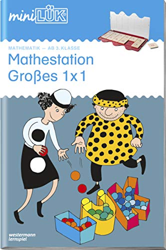 9783837742497: miniLÜK. Mathestation Großes 1 x 1: Ab 3 Klasse