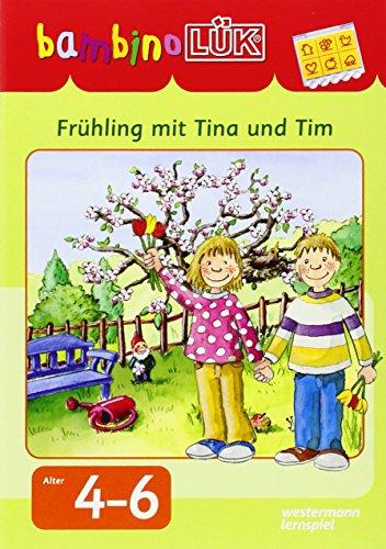 9783837779615: bambinoLÜK-Set Lernspaß mit Tina und Tim